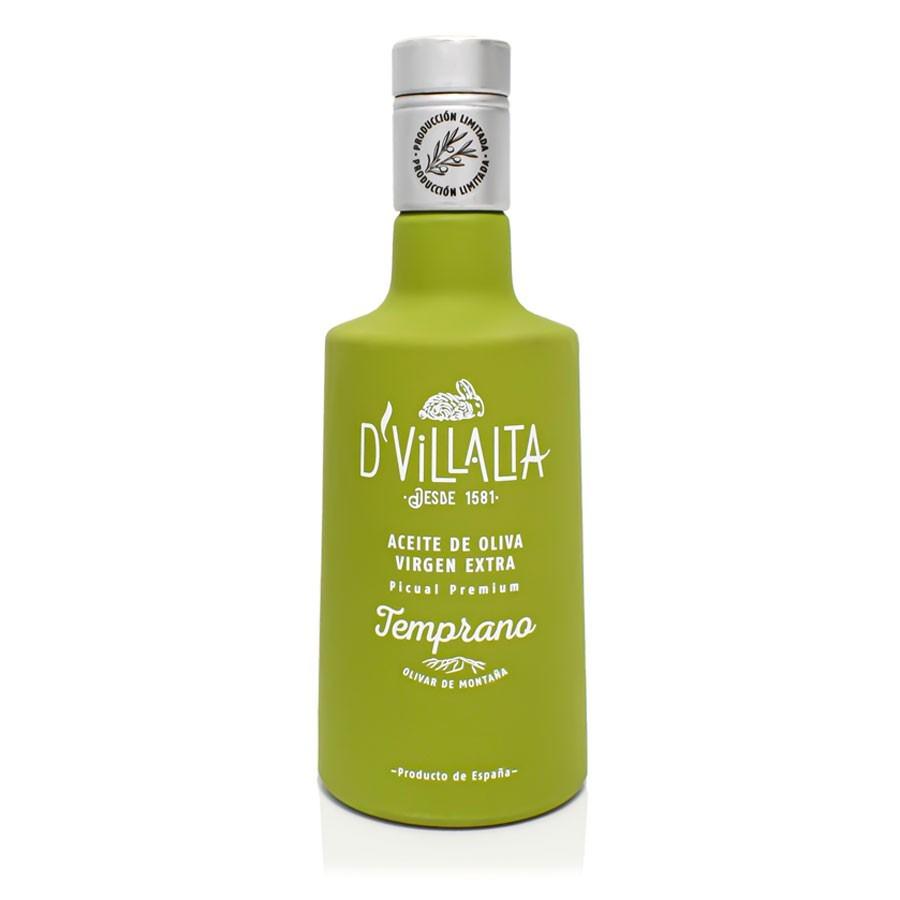 Aceite de Oliva Virgen Extra Temprano D'Villalta